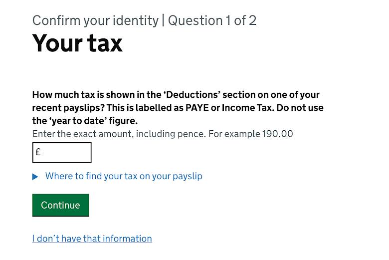 薪資單上的 PAYE 稅額