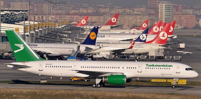 Türk Hava Yolları - Türkmenistan Uçak Bileti