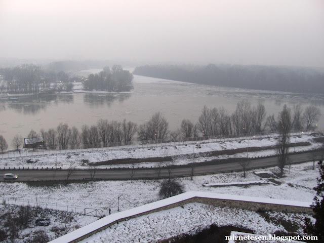 Дунай в Белграде