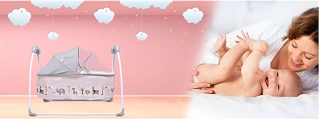 R for Rabbit Lullabies Automatic Swing Cradle For Baby to Sleep at Any Time Any Place