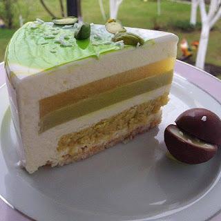 Cake Mirror Hijau
