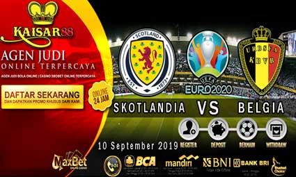 PREDIKSI BOLA TERPERCAYA SKOTLANDIA VS BELGIA 10 SEPTEMBER 2019