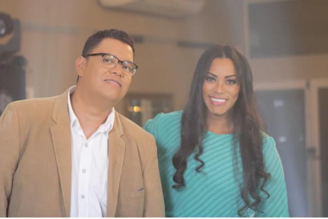 Anderson Freire e Elaine Martins gravam clipe single
