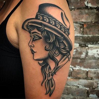 Dancing Tattoos design for girls