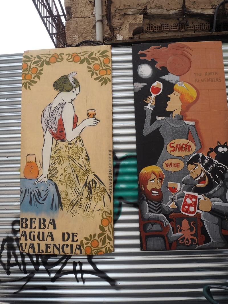 Agua de Valencia artwork