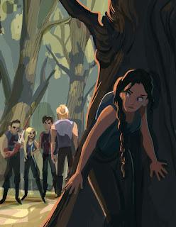 Katniss de Los juegos del hambre - Fanart