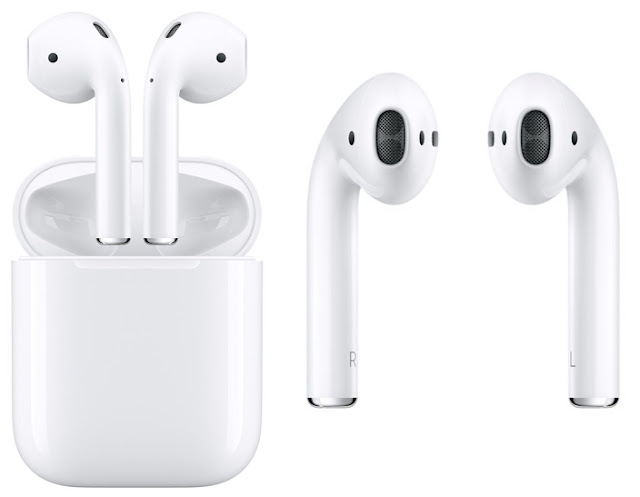 The Earbud Fan: Apple Wireless AirPods in White