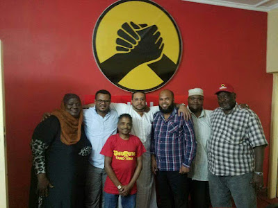 Omar Hassan Joins Jubilee officially. PHOTO | Courtesy