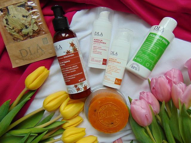 Kosmetyki DLA - Moja pielęgnacja z kosmetykami na bazie ziół