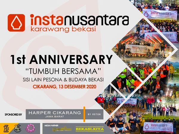 1st Anniversary Instanusantara Karawang Bekasi