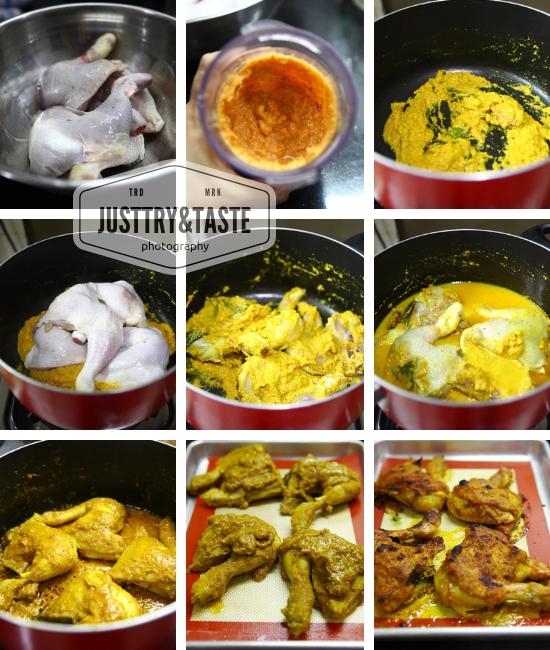 Resep Ayam Panggang a la Padang
