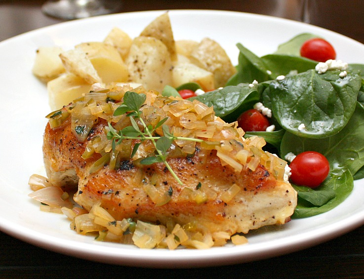 lemon chicken thyme
