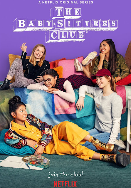 the babysitters club first look promotional poster