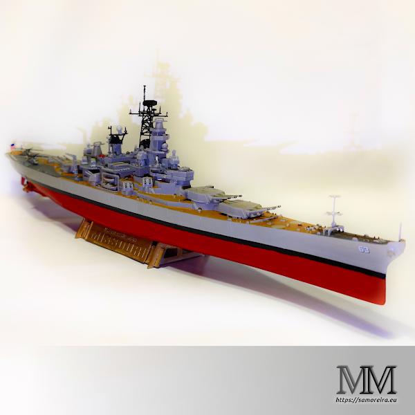Battleship USS Missouri BB63