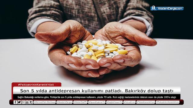 psikoloji - ruh sağlığı, psikiyatri, sağlık, psikiyatrinin karanlık yüzü, tıbbın karanlık yüzü, Antidepresan, antidepresan tuzağı, depresyon, anksiete, akademi dergisi,