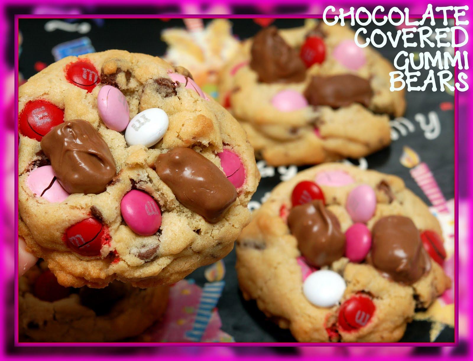 Hugs Amp Cookiesxoxo Chocolate Covered Gummi Bear Cookies