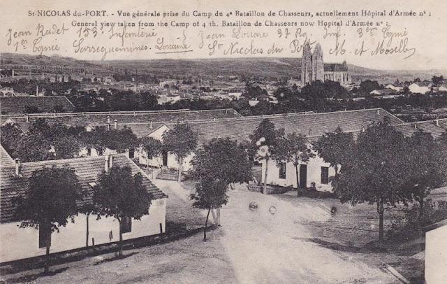 Les anduziens dans la guerre de 1914 1918 - Hopital saint nicolas de port ...