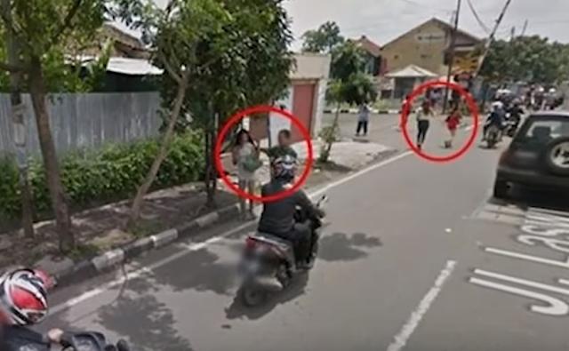 Google Street View razia warya