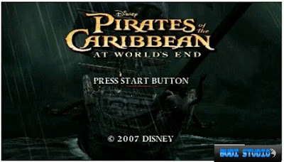 Free Download Pirates of the Caribbean: At World's End PPSSPP