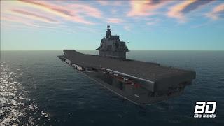 Download mod navio porta aviões Admiral Kuznetsov Aircraft Carrier   para GTA San Andreas