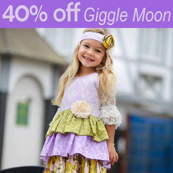 Giggle Moon designer kids clothing sale