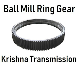 Ball Mill Ring Gear Krishna Transmission Manufacturer Supplier