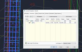 Corridor in Autodesk Civil 3D
