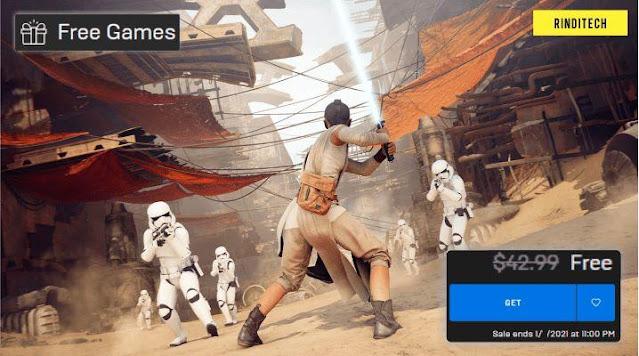 Game gratis lagi dari Epic! Star Wars Battlefront 2 cuss klaim!