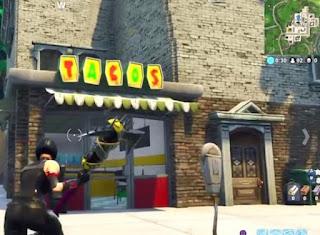 Fortnite, Taco Shops, Tilted Tower Northeast