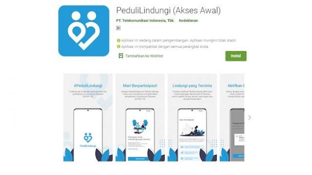 PeduliLindungi Bisa Diunduh Melalui Play Store, Aplikasi Tracking COVID-19