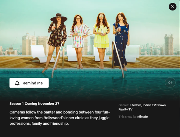 The Fabulous Life of Bollywood Wives - Season 1   27 November 2020