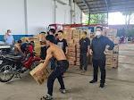 Musibah Gempa Bumi di Sulawesi Barat, Polda Sumut Salurkan 7 Kontainer Bantuan