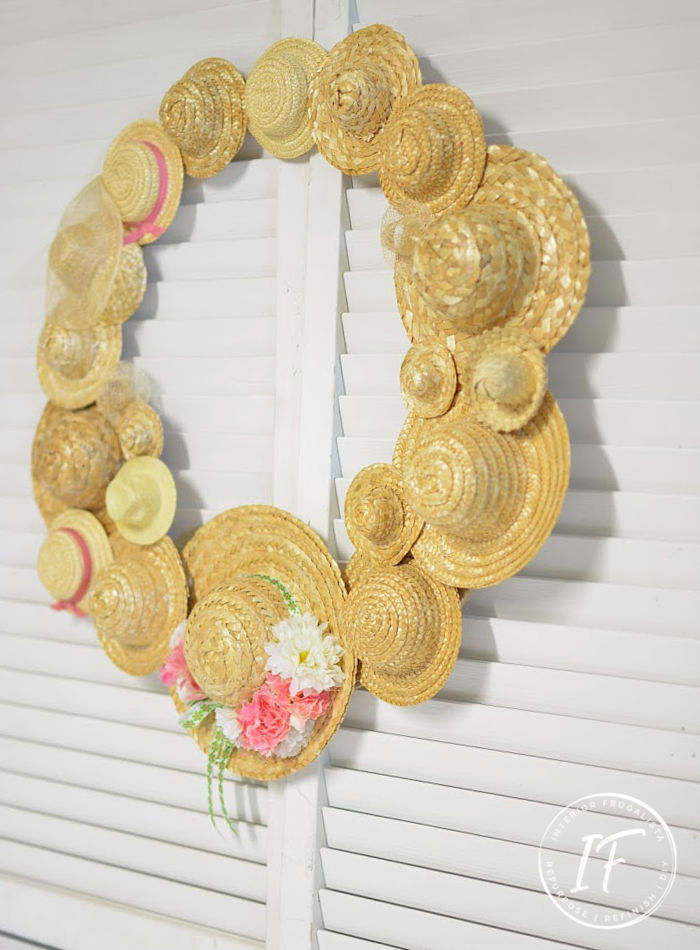 DIY Summer Wreath Idea