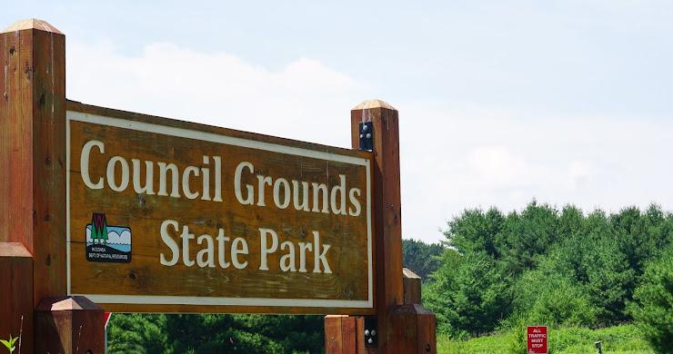 Campsite Photos: Council Grounds State Park