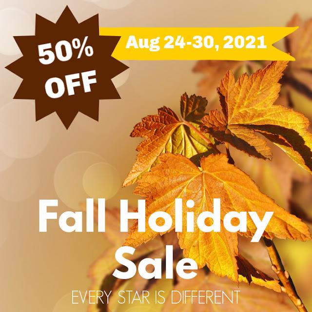 Fall Holiday Sale 50% OFF Select Bundles