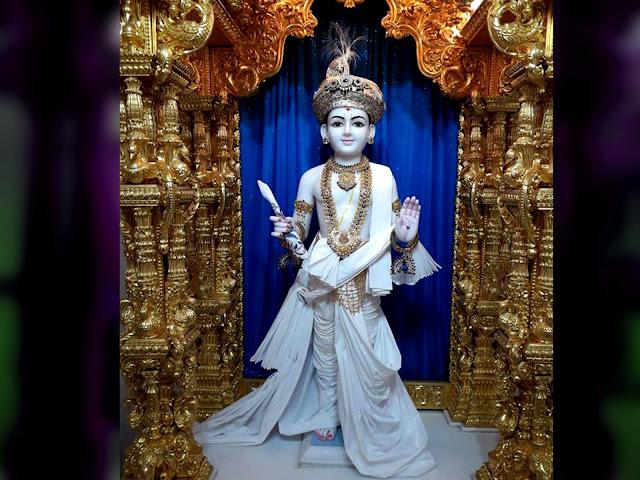 swaminarayan bhagwan original photo