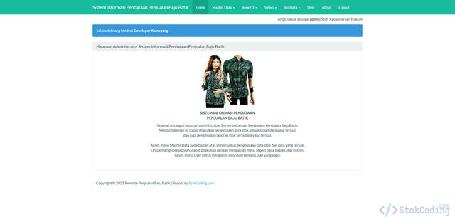 Aplikasi Pendataan Penjualan Baju Berbasis Web (PHP)