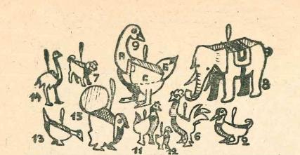 фигурки животных своими руками