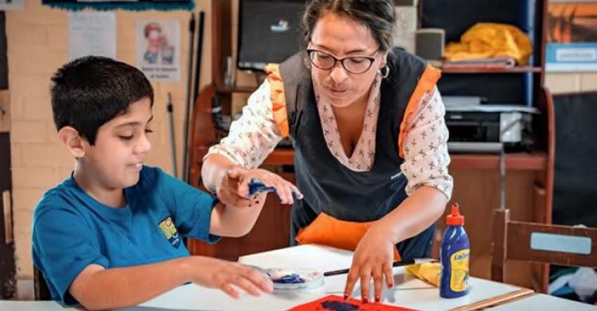 MINEDU: Más de 81 mil estudiantes con discapacidad reciben atención especializada del Ministerio de Educación
