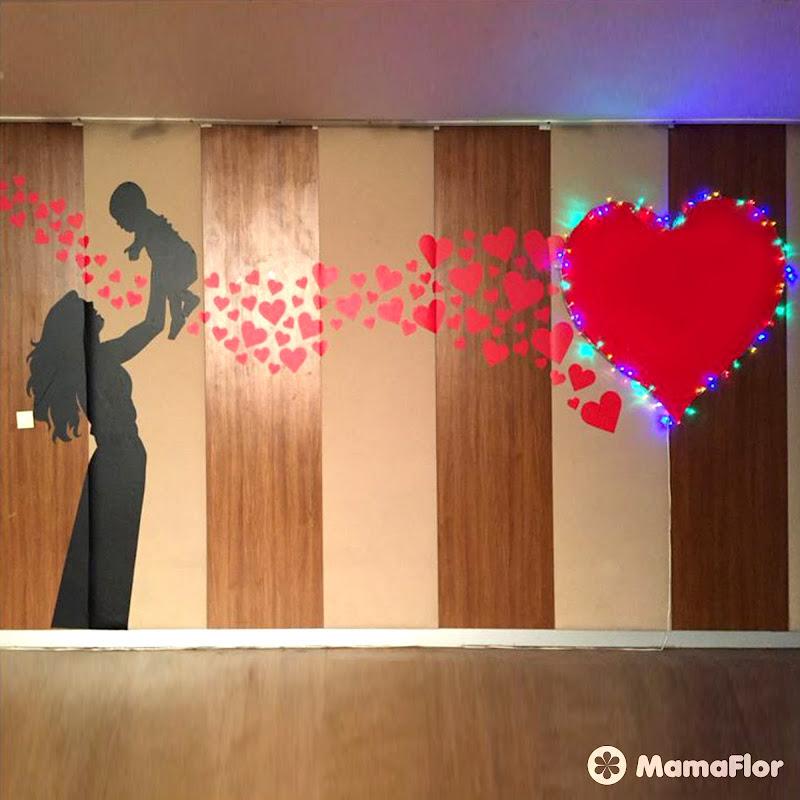 Murales Escolares Dia Madre Mama