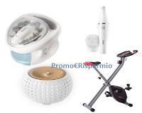 Logo ACE Igiene che bellezza  : vinci epilatori, set manicure,cyclette, diffusori aromi e weekend a Budapest
