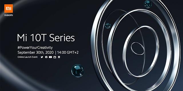 Xiaomi Mi 10T series - O lançamento global é já amanhã