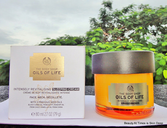 The Body Shop Oils of Life Sleeping Cream
