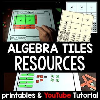 Algebra tiles resources