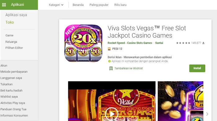 Viva Slots Vegas™ Free Slot Jackpot Casino Games, permainan mesin slot klasik terbaik
