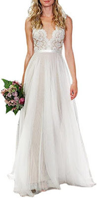 Beach Style Wedding Gown