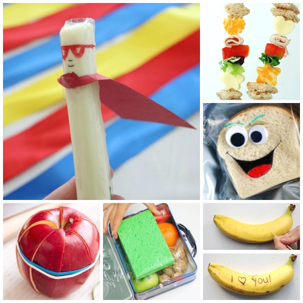 LUNCH BOX HACKS & IDEAS FOR KIDS.  These are genius! #choollunchideas #schoollunchideasforkids #schoolhacks #lunchideaskids #lunchboxideas