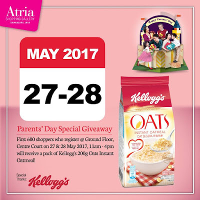 Kellogg's Malaysia Oats Instant Oatmeal Free Giveaway