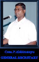 Image result for P. ABHIMANYU.GS. BSNLEU