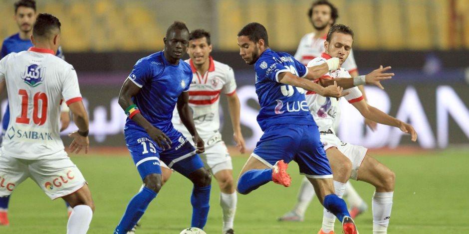 نتيجة مباراة الزمالك وسموحة بتاريخ 20-12-2019 الدوري المصري